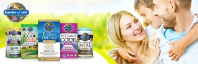 Garden of Life - Wholefood Supplements
