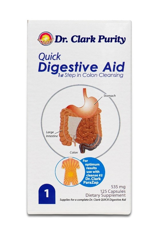 1. Dr Clark Quick Digestive Protocol (125)
