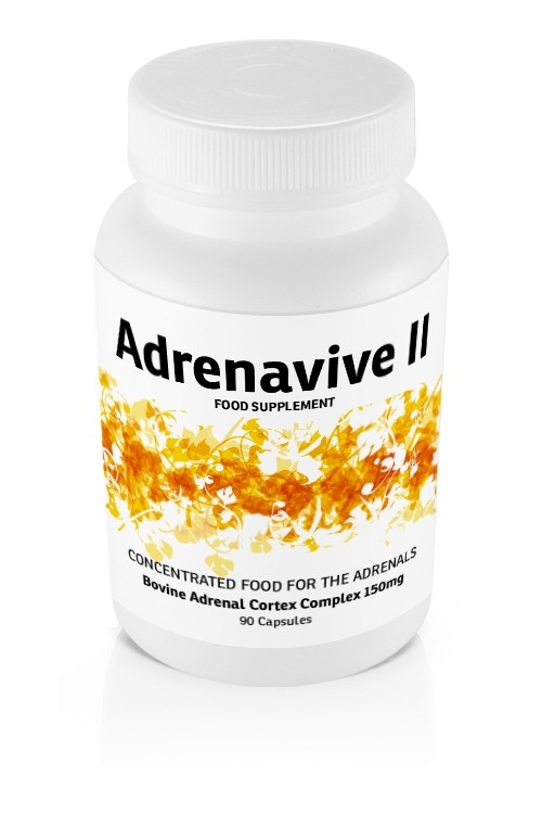Adrenavive II Adrenal Cortex Complex 150mg (90 caps)