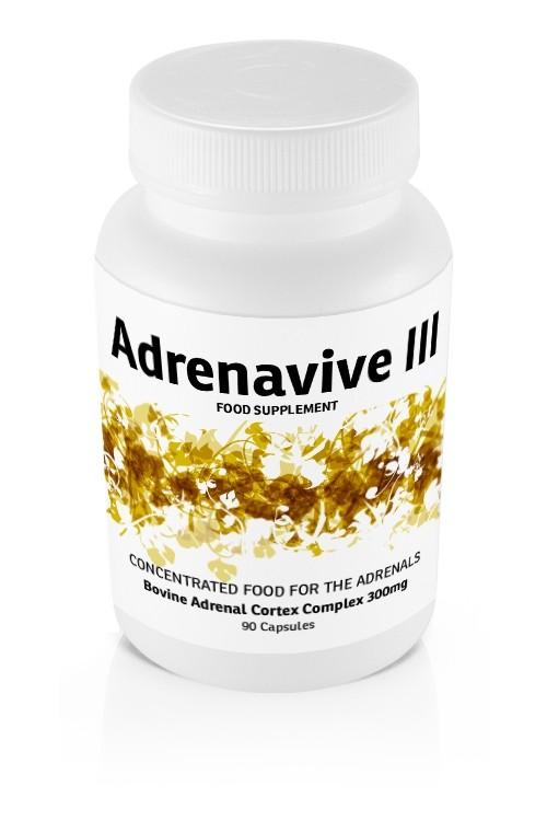 Adrenavive III Adrenal Cortex Complex 300mg (90 caps)