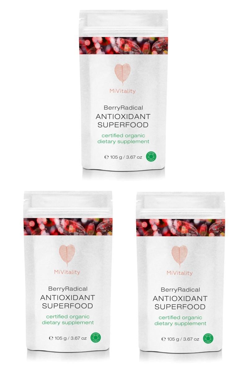 Berry Radical Antioxidant Value 3 Pack