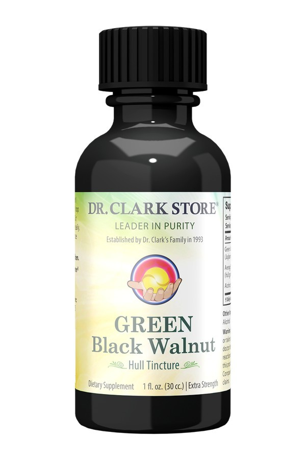 Black Walnut Hull Tincture (30ml)