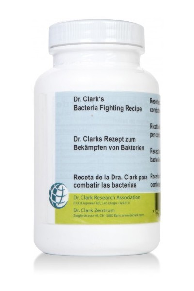 Dr Clark Bacterial Fighting Recipe 440mg (120)
