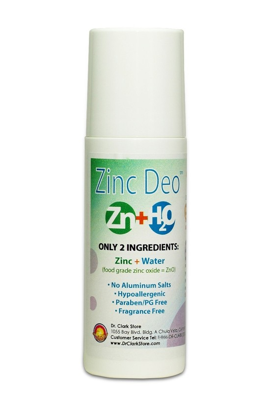 Dr Clark Zinc Roll-on Deodorant (90ml)