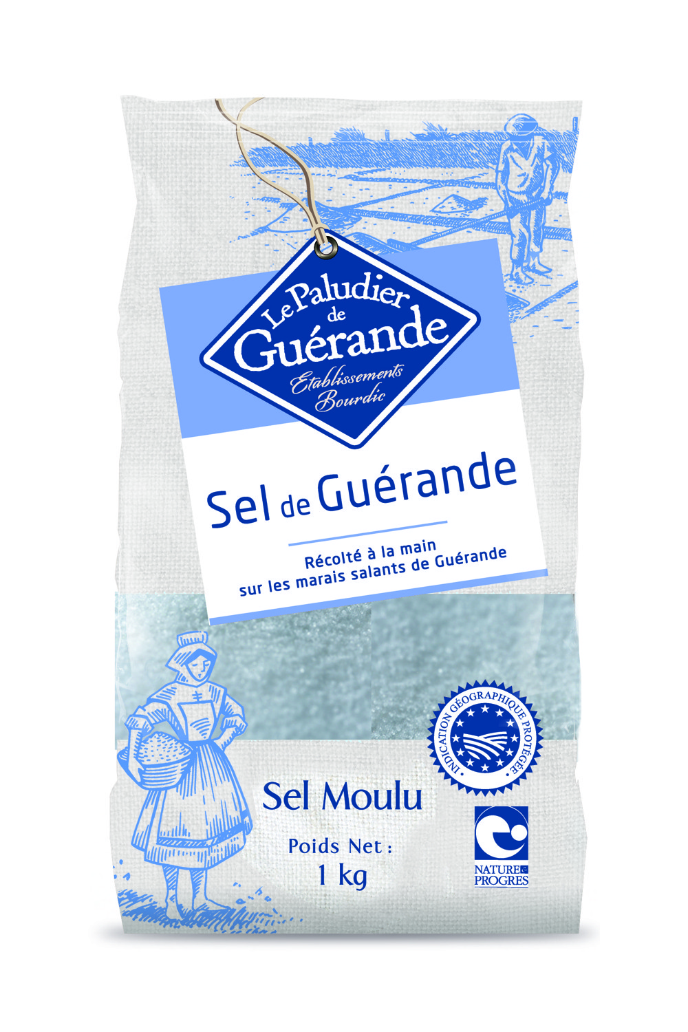 French Celtic Grey Sea Salt (Fine) 1Kg