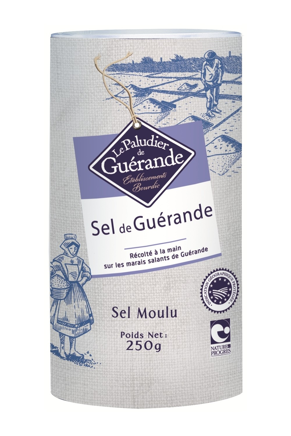 French Celtic Grey Sea Salt (Fine) 250g