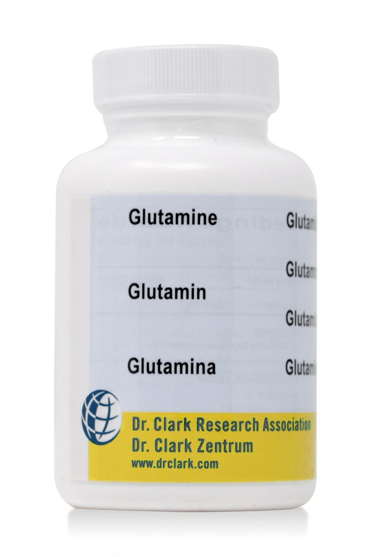 Glutamine 500mg (100 Caps)