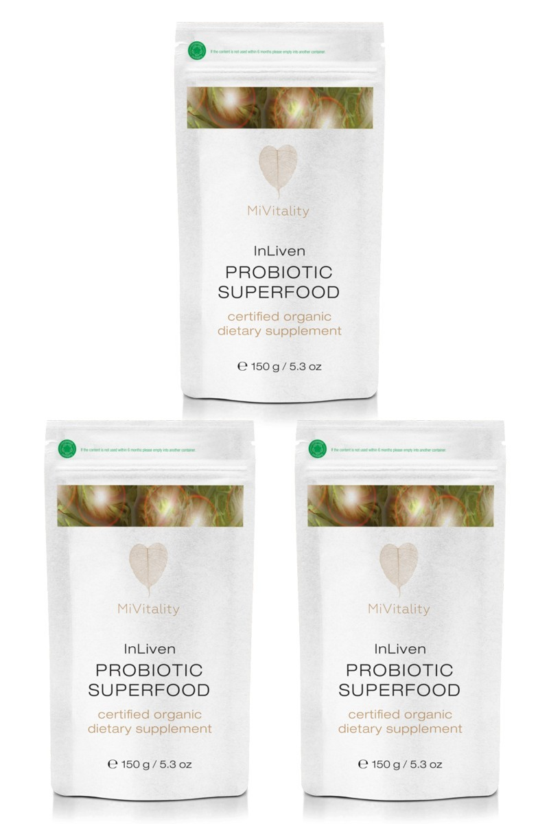 In Liven Probiotic Superfood Value 3 Pack