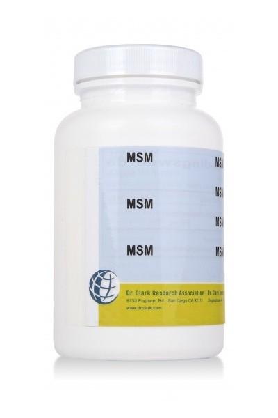 MSM 650mg (100 Capsules)