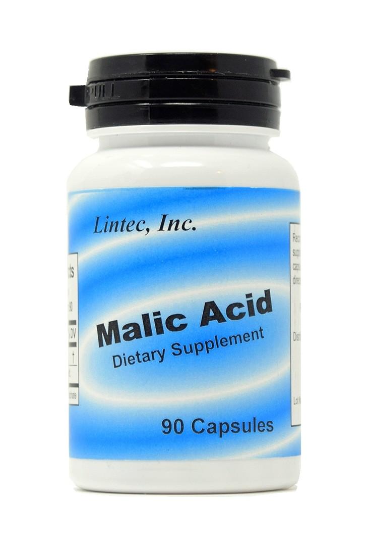 Malic Acid 100mg (90 Capsules)