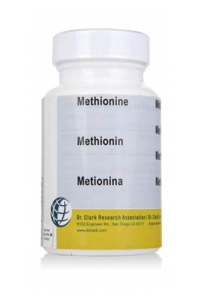 Methionine 500mg (50 Capsules)