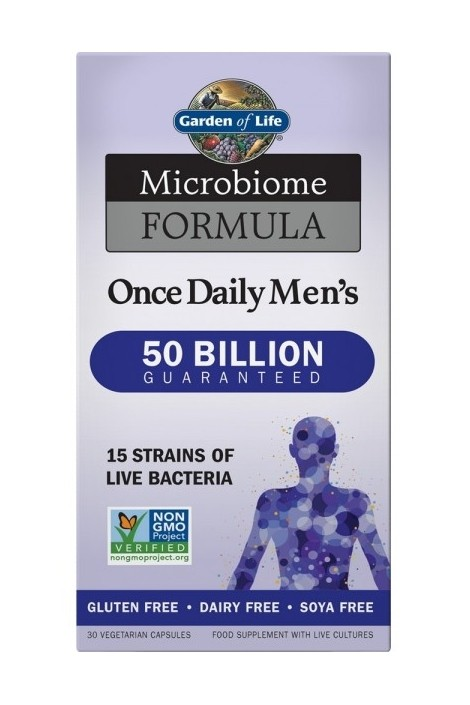 Microbiome Formula Once Daily Men's (30 Capsules)