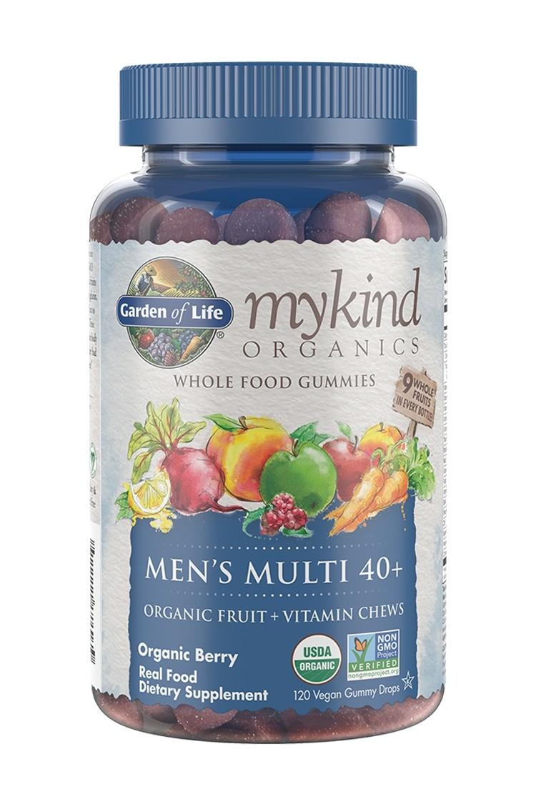 mykind Organics Men's Multi 40+ Berry Gummies (120)