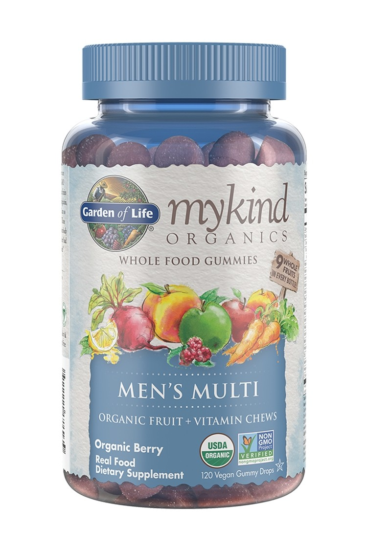 mykind Organics Mens Multi Berry Gummies (120)