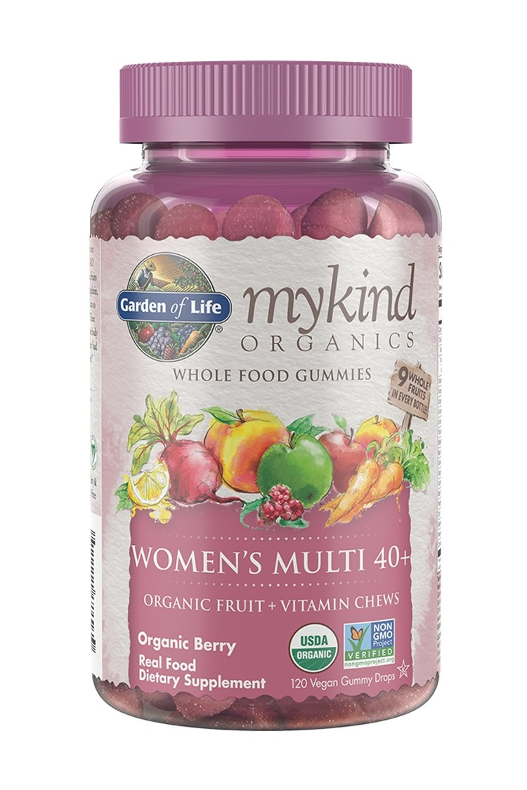 mykind Organics Womens Multi 40+ Berry Gummies (120)