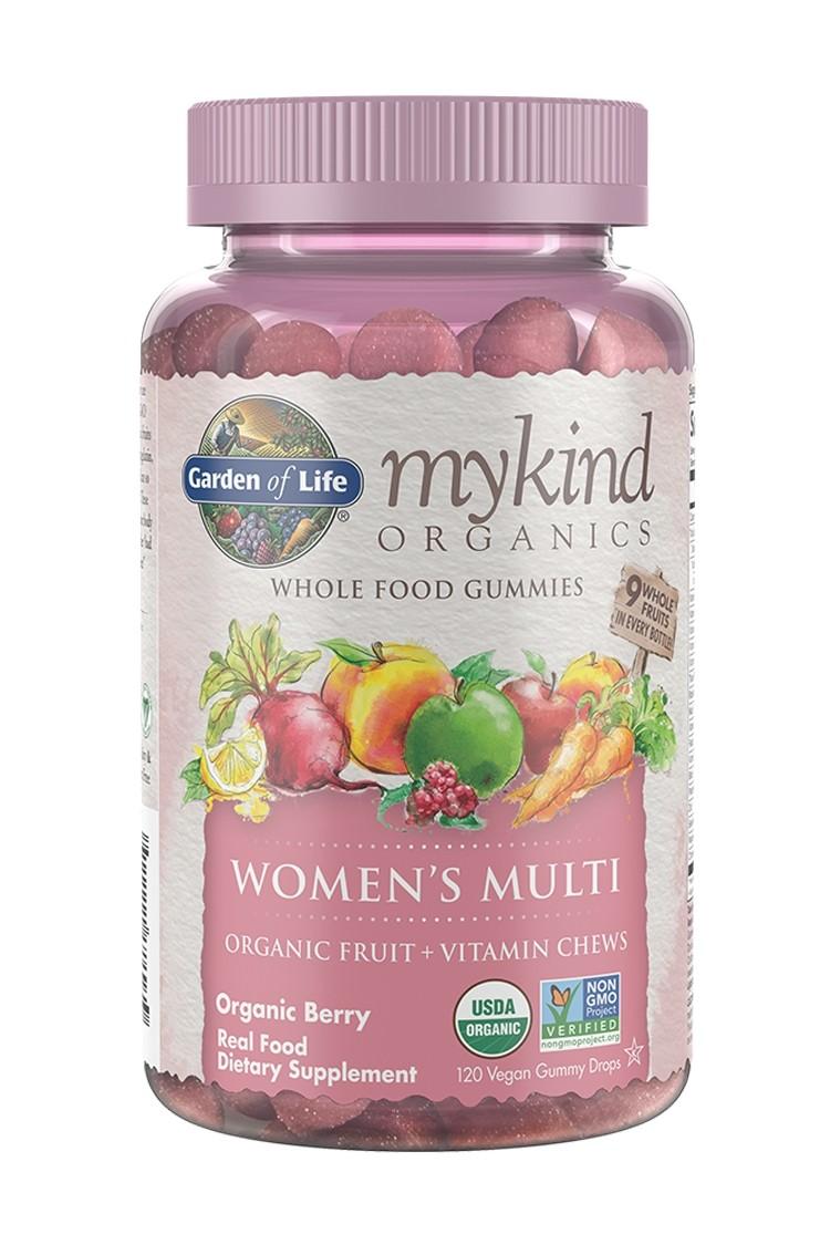 mykind Organics Women's Multi Berry Gummies (120)
