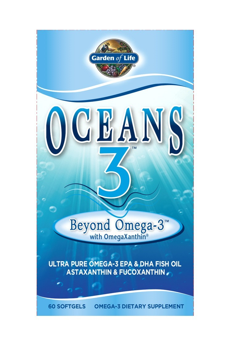Oceans 3 - Beyond Omega-3 (60 Softgels)