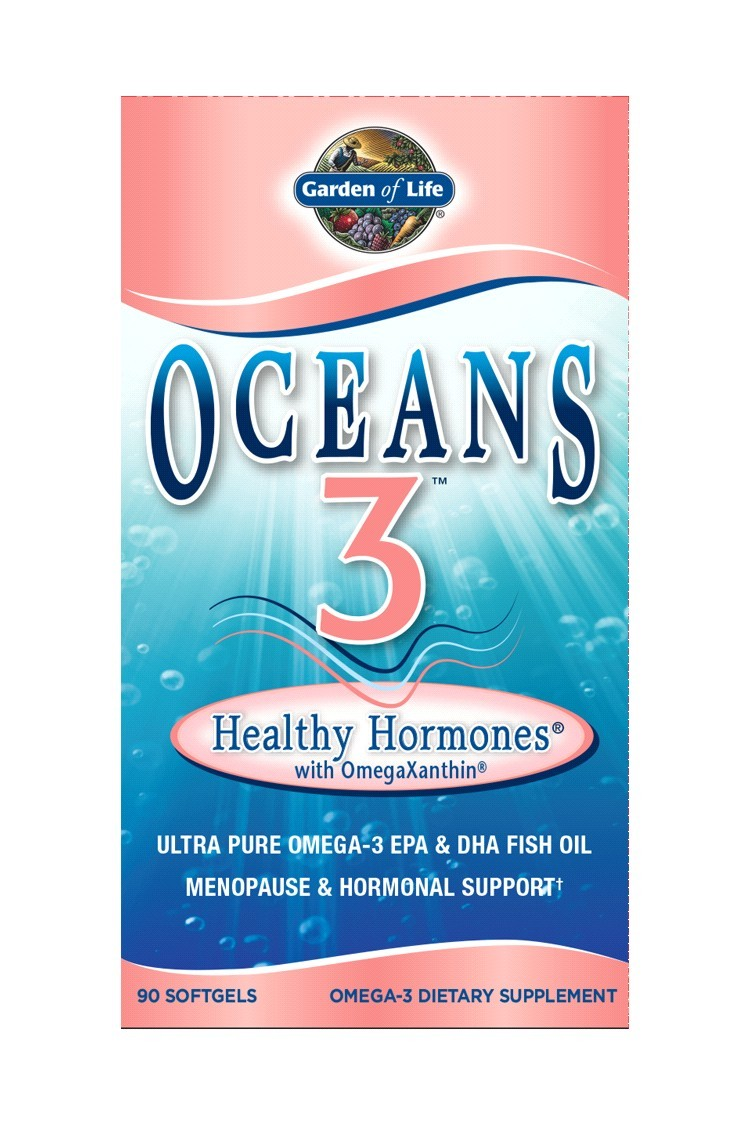 Oceans 3 - Healthy Hormones (90 Softgels)