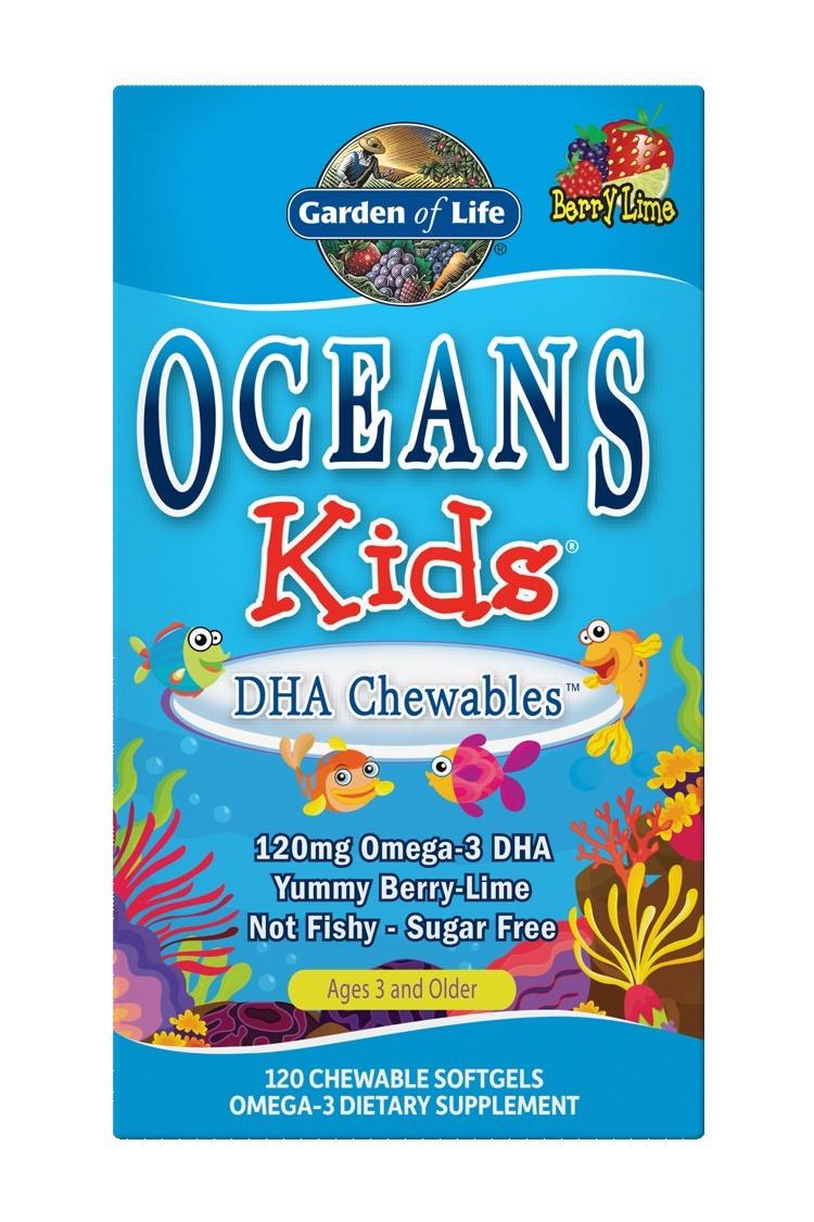 Oceans 3 - Oceans Kids DHA Chewables (120)