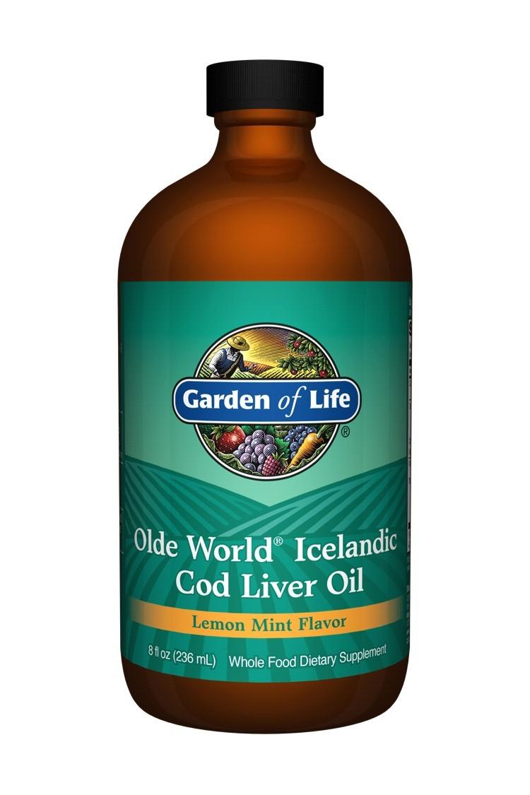 Olde World Icelandic Cod Liver Oil (236ml)