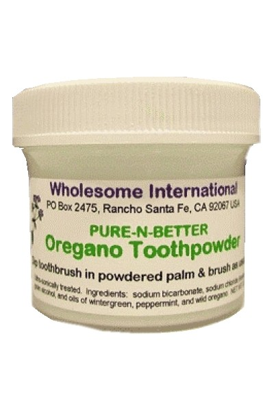 Oregano Tooth Powder (90g)