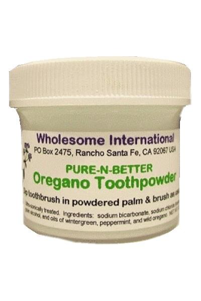 Oregano Tooth Powder (90g)