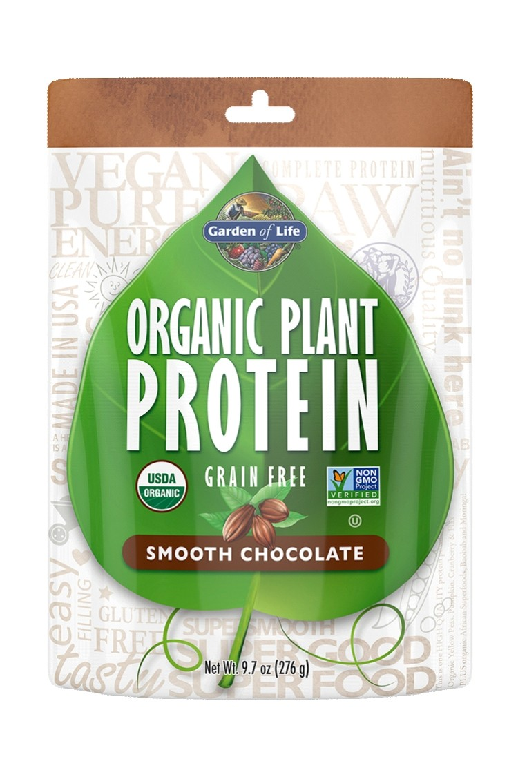 Organic Plant Protein Smooth Chocolate (276g)