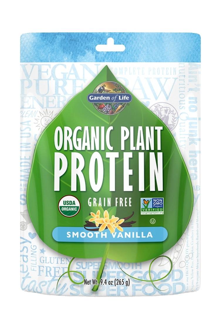 Organic Plant Protein Smooth Vanilla (265g)
