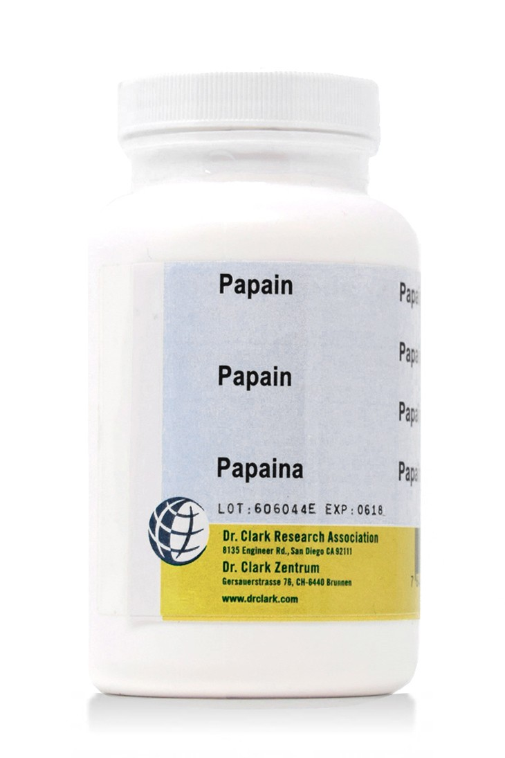 Papain 500mg (100 Capsules)