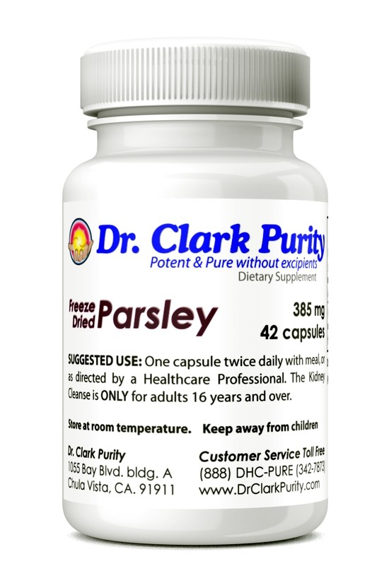 Parsley 385mg (42 Capsules)