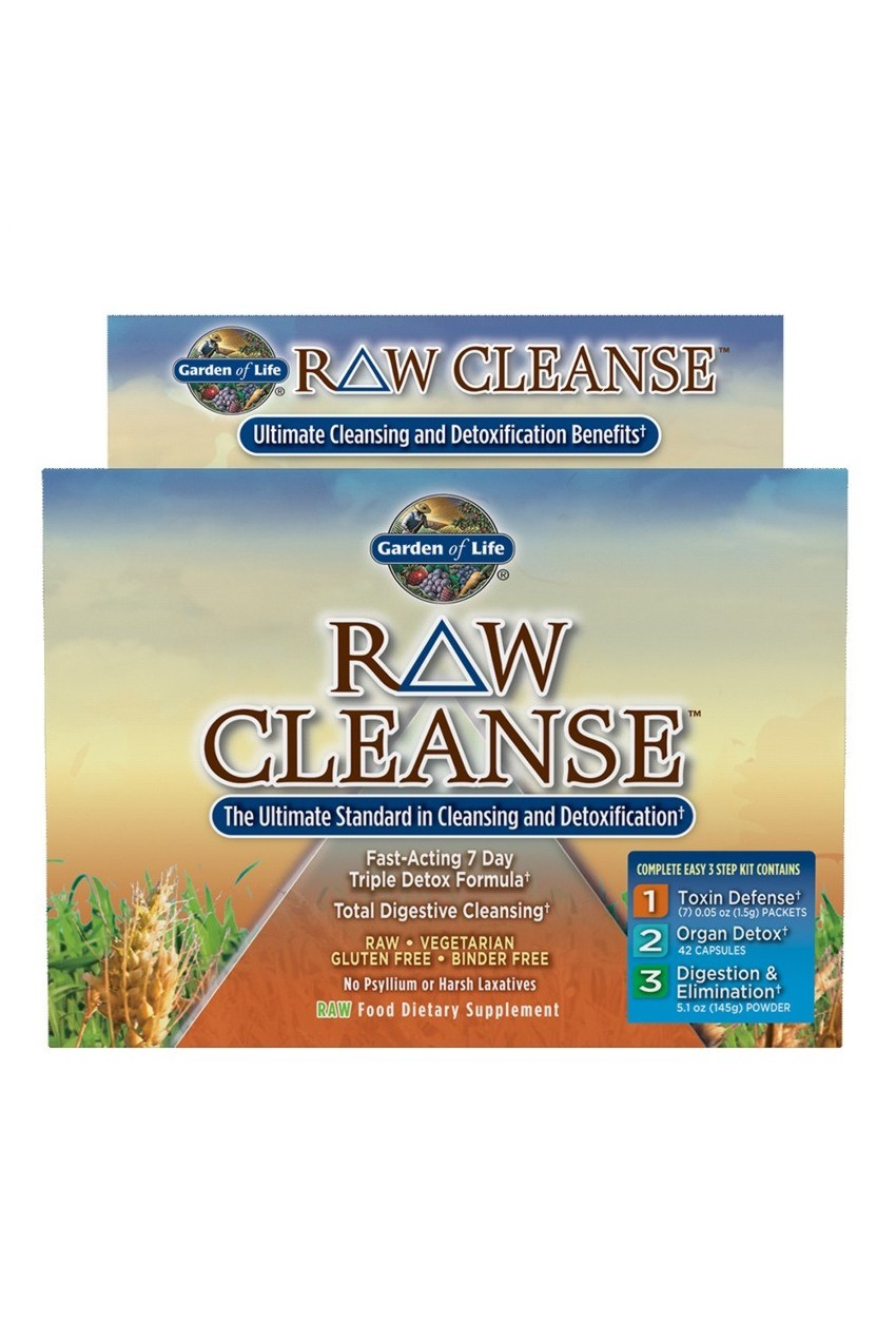 RAW Cleanse™ Triple Detox Formula 1 Kit