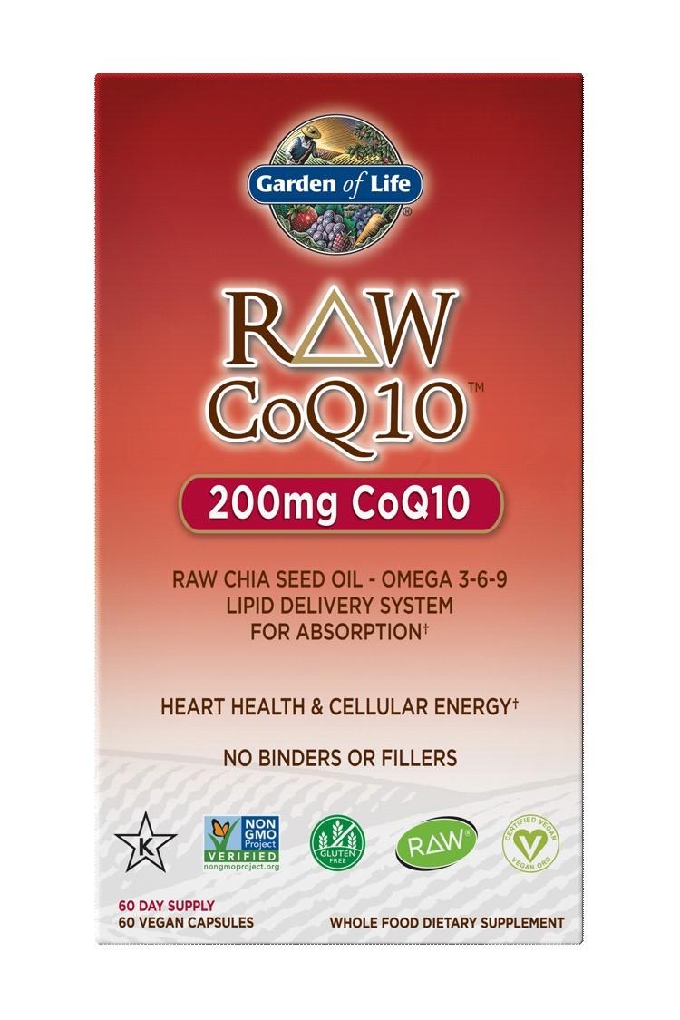 RAW CoQ10 200mg (60 Caps)