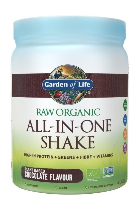RAW Organic All-in-One Shake Chocolate (509g)