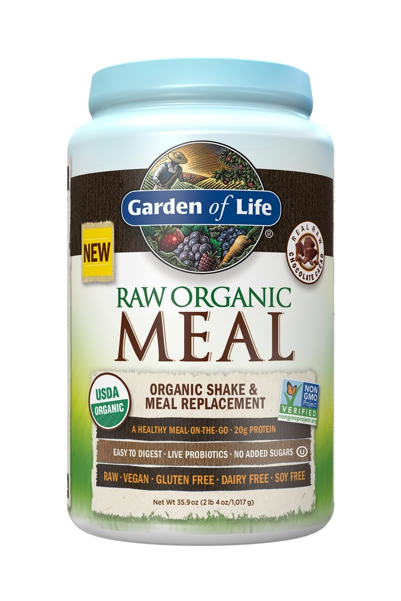 RAW Organic Meal Chocolate Cacao 1017g