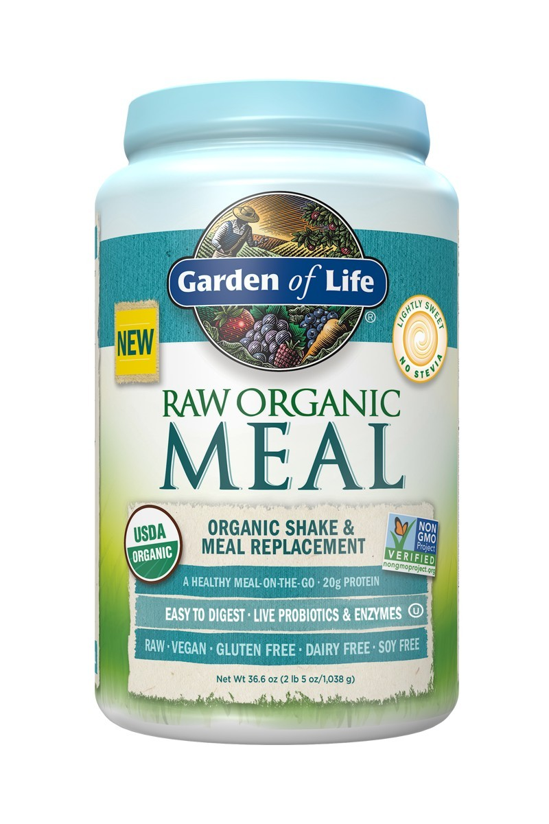RAW Organic Meal Lightly Sweet (1038g)