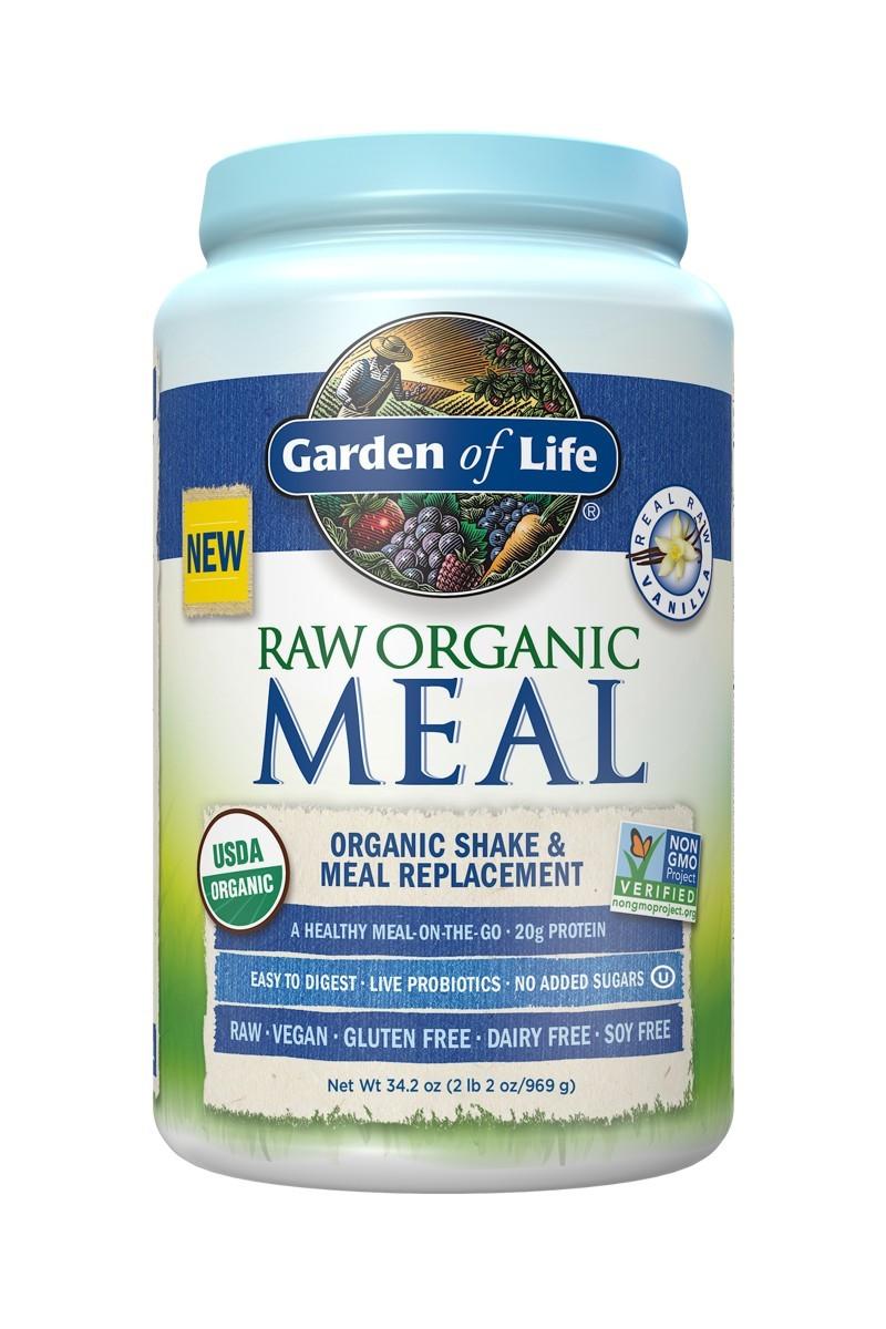 RAW Organic Meal Vanilla (969g)