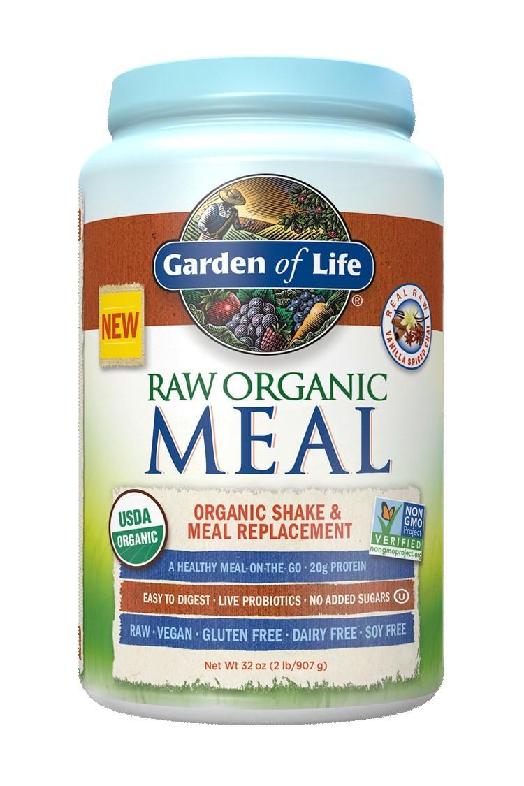 RAW Organic Meal Vanilla Spiced Chai (907g)