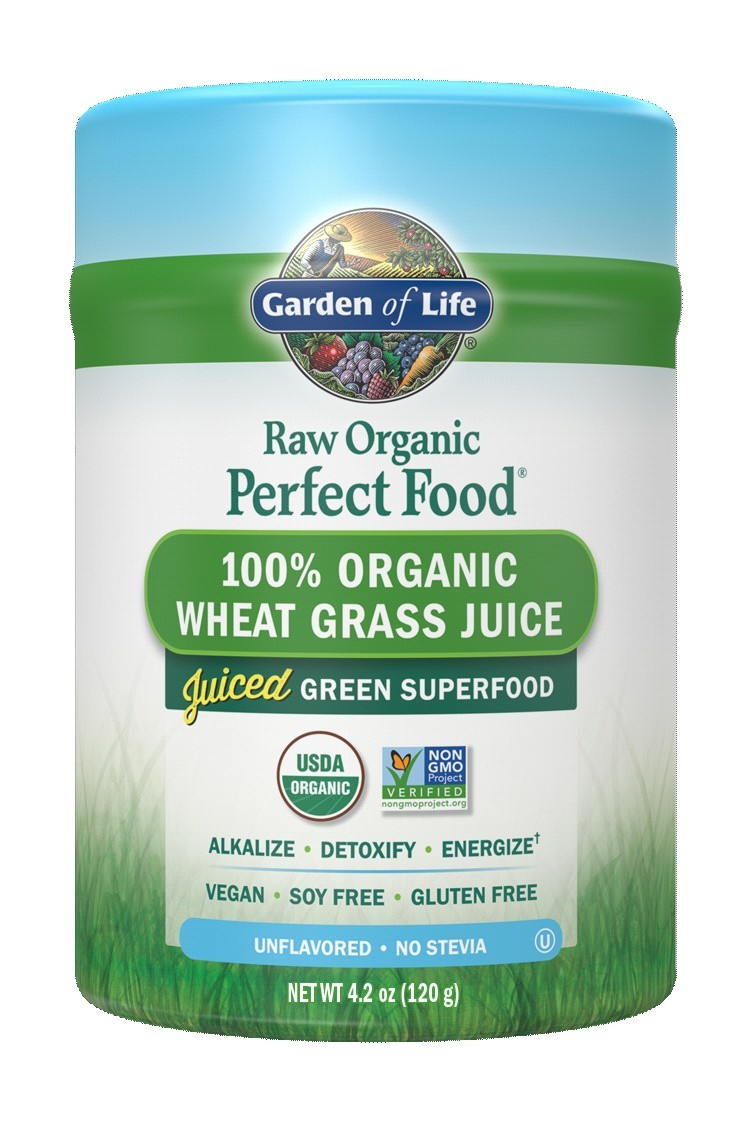 RAW Organic Perfect Food Wheat Grass (120g)