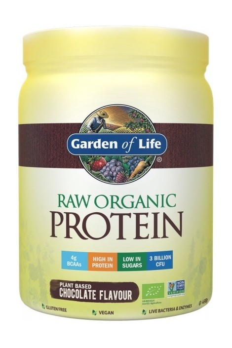 RAW Organic Protein Chocolate (498g)