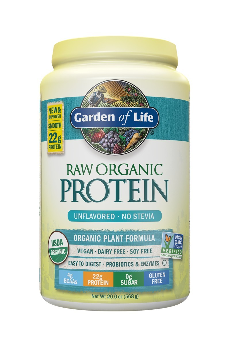 RAW Organic Protein Unflavored (568g)