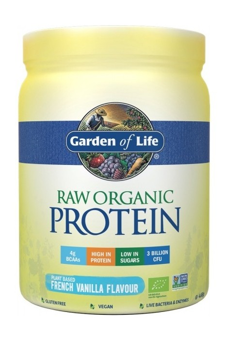 RAW Organic Protein Vanilla (468g)