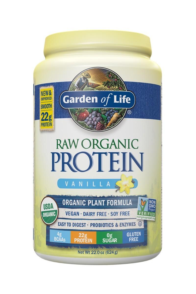 RAW Organic Protein Vanilla (624g)