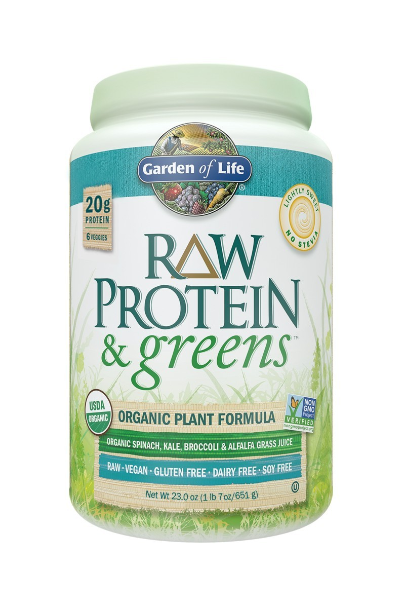 RAW Protein & Greens, Lightly Sweet (651g)