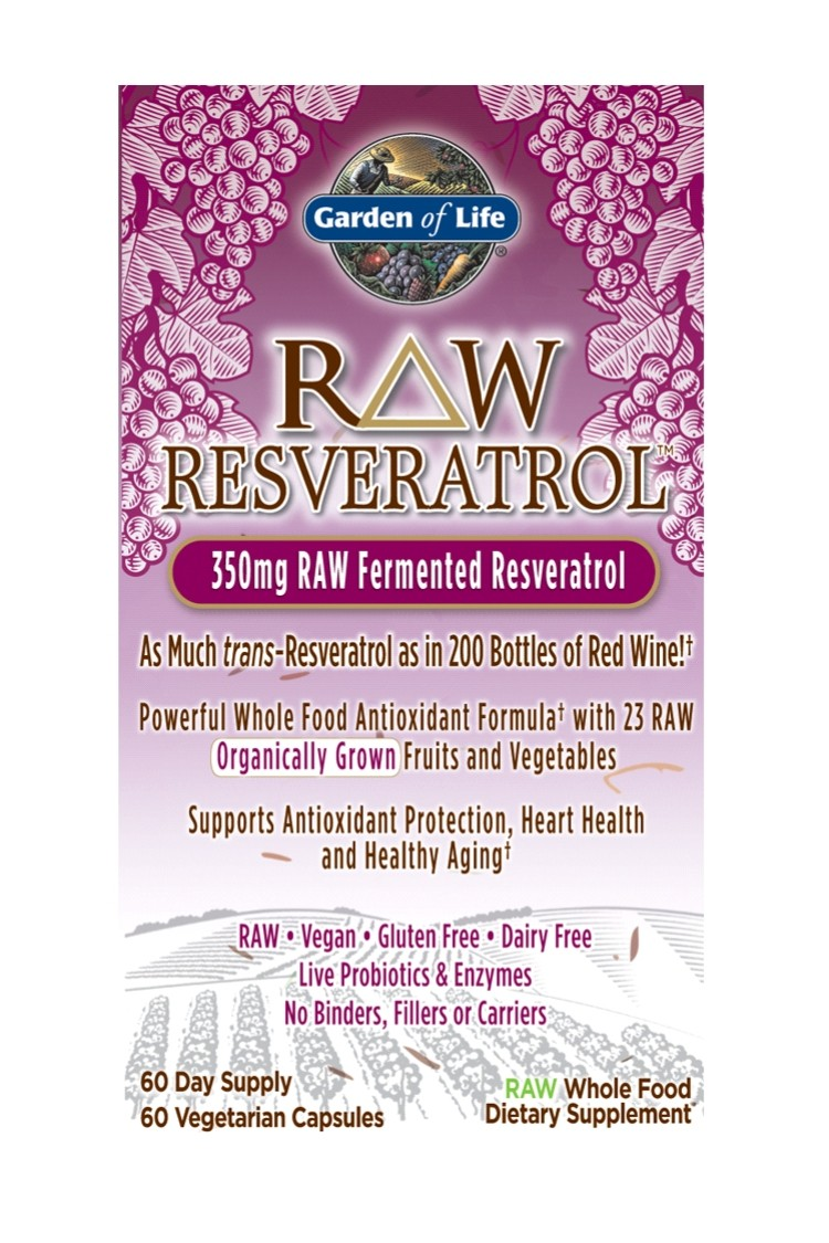 RAW Resveratrol™ (60 Caps)