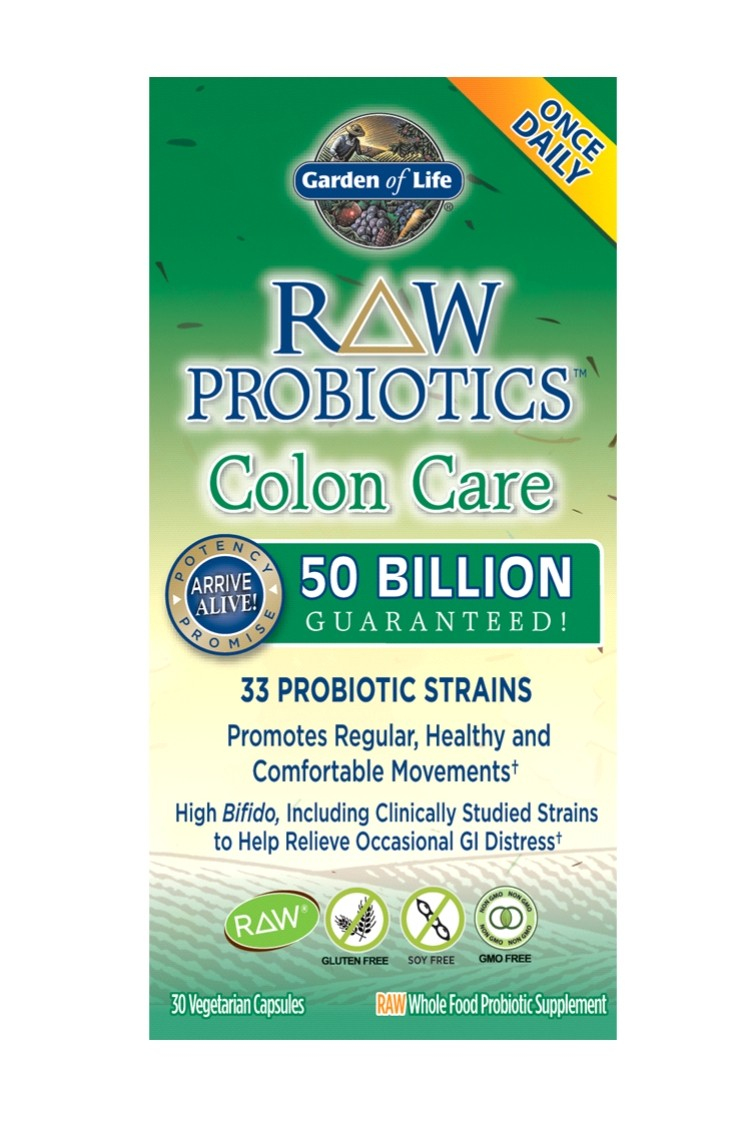 RAW Probiotics™ Colon Care (30 Caps)