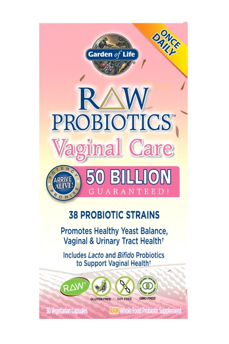 RAW Probiotics™ Vaginal Care (30 caps)