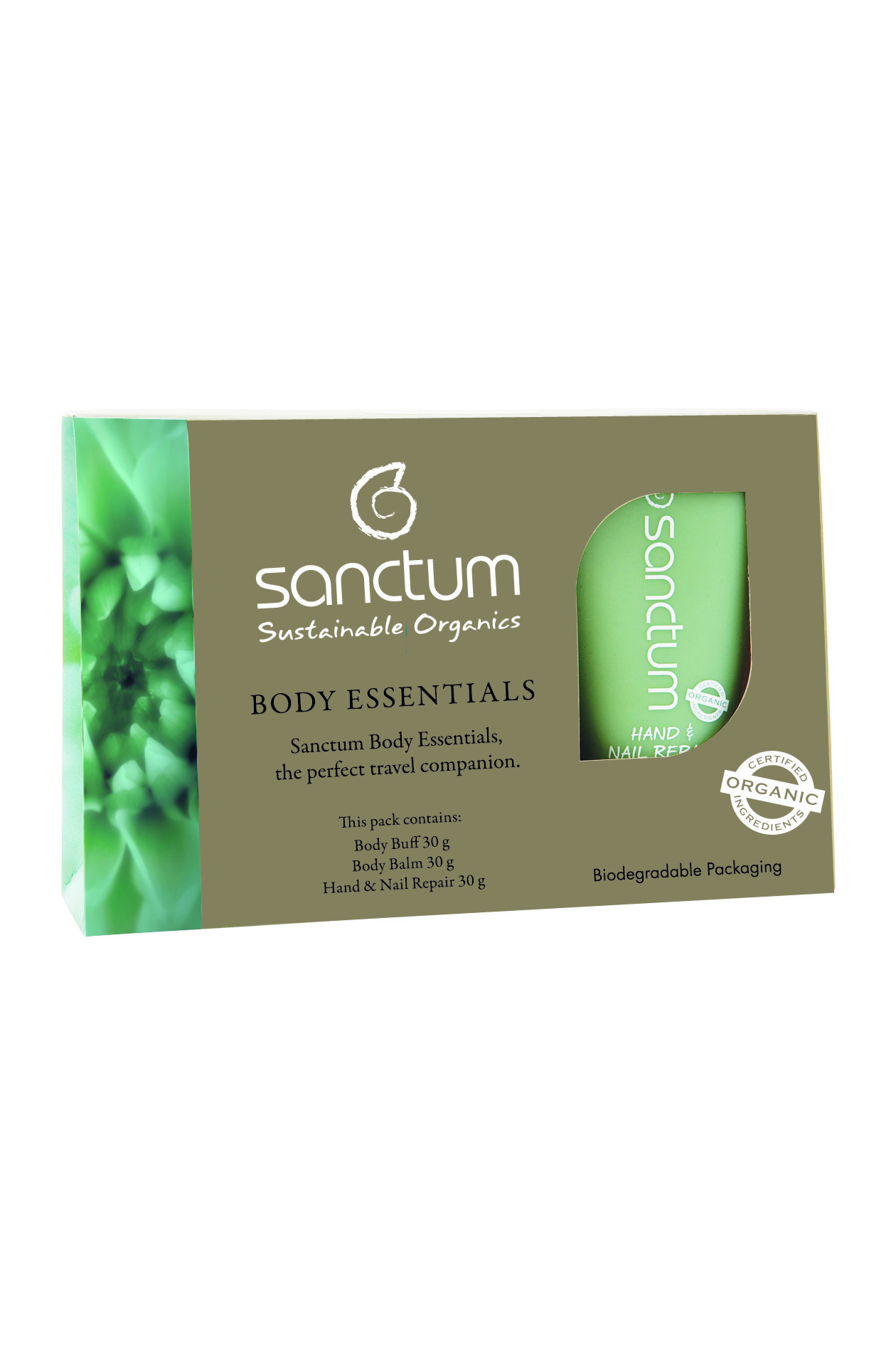 Sanctum Body Essentials Travel Pack - 3 x 30ml