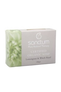 Sanctum Lemongrass & Witch Hazel Soap (100g)
