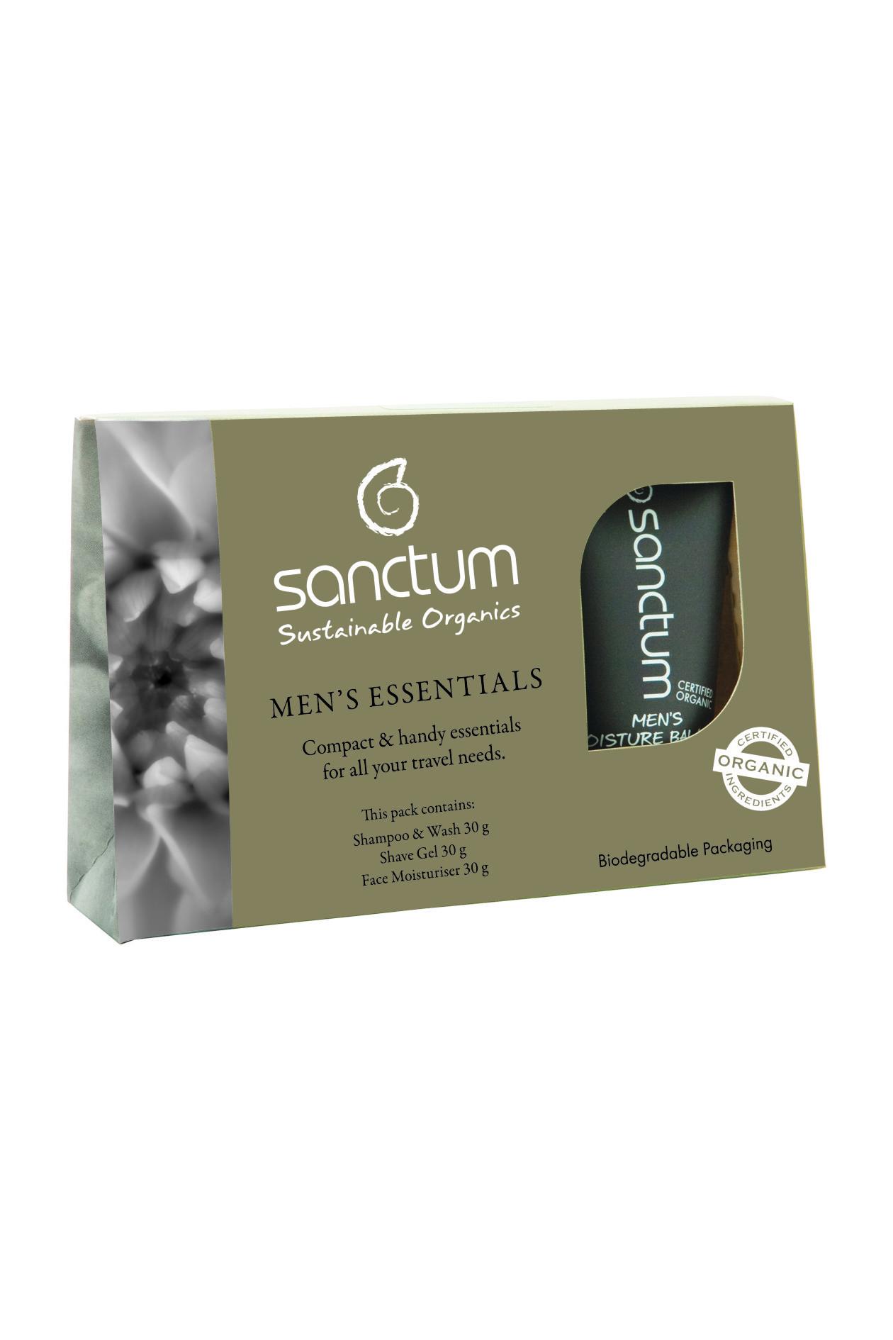 Sanctum Mens Essentials Travel Pack - 3 x 30ml