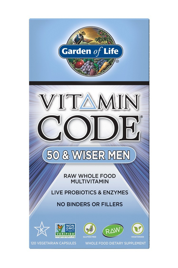 Vitamin Code® 50 & Wiser Men (120 Caps)